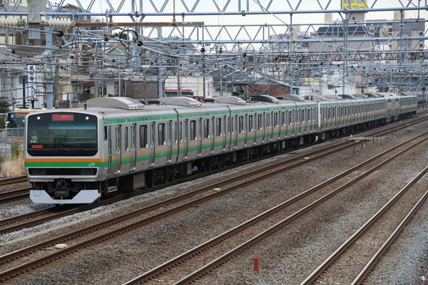 上野東京ラインE231系1000番台 S-26編成 快速アクティー