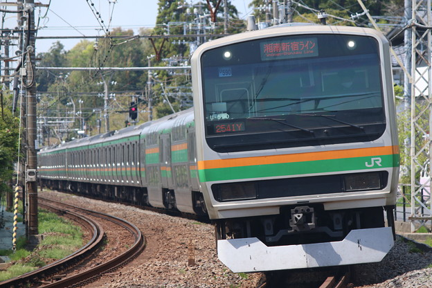 湘南新宿ラインE231系1000番台 U-590編成