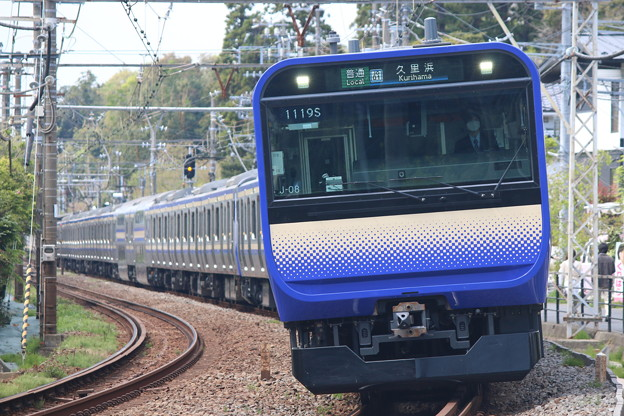 横須賀・総武快速線E235系1000番台 J-08編成