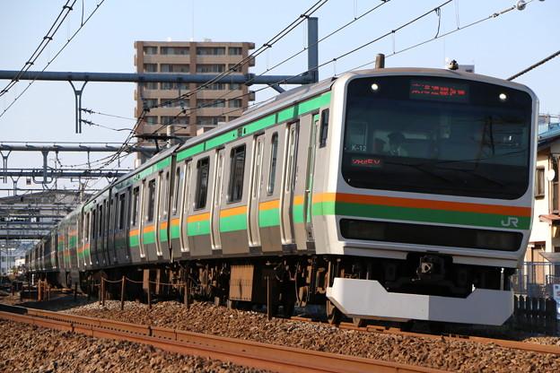 上野東京ラインE231系1000番台 K-12編成