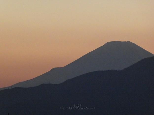 210227-富士山(夕) (2)