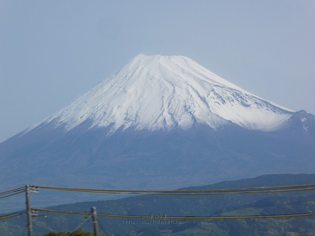 Photos: 210504-富士山(車窓) (9)