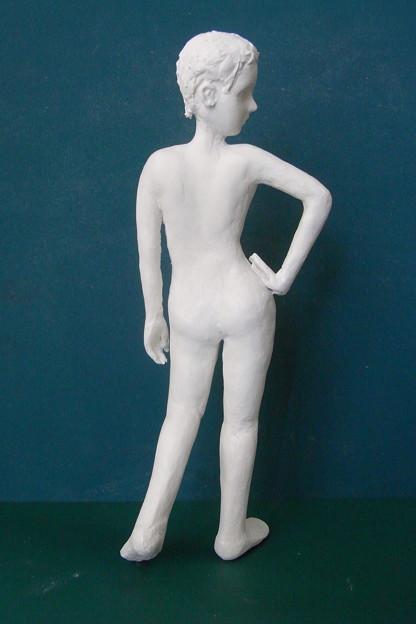 紙粘土人形裸婦像67後