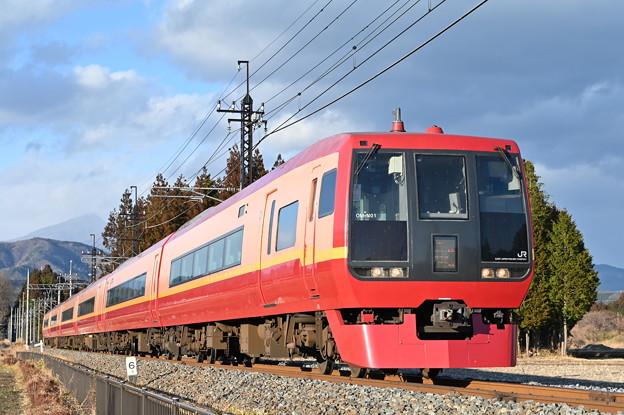 253系回送列車