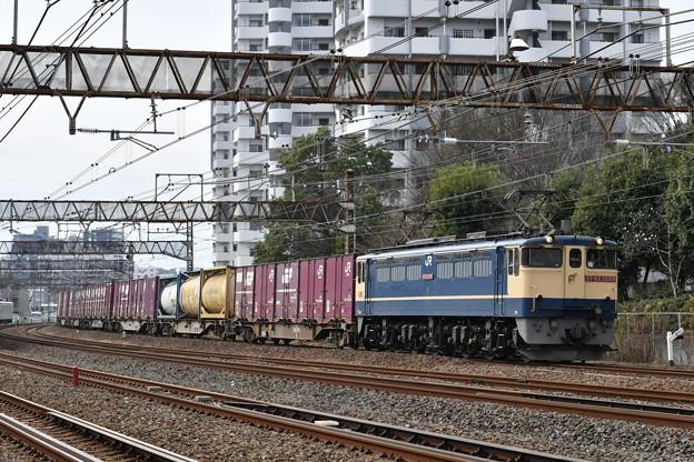 貨物列車 72レ (EF652089)