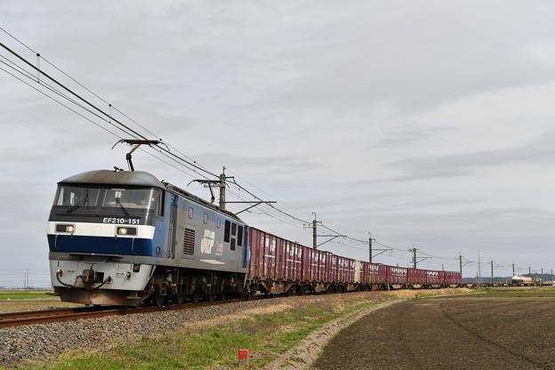 貨物列車 (鹿島貨物) EF210-151