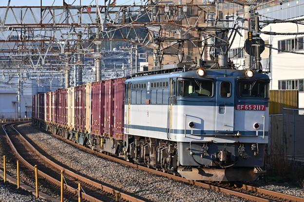 貨物列車 (EF65 2117)