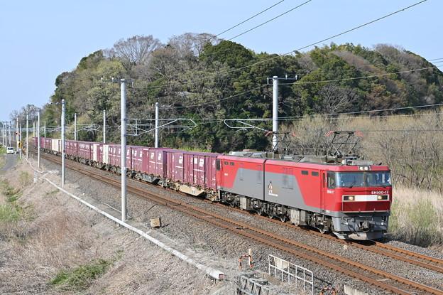 貨物列車 (EH500-17)