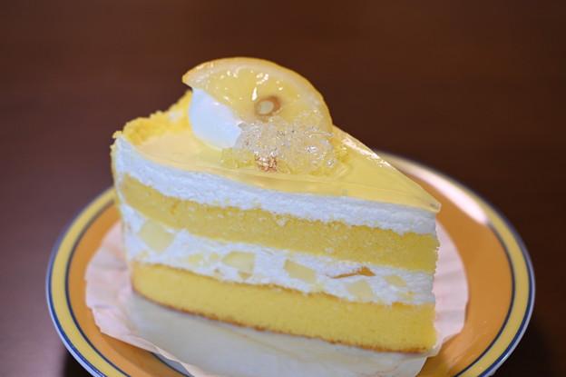 瀬戸内レモンのショートケーキ