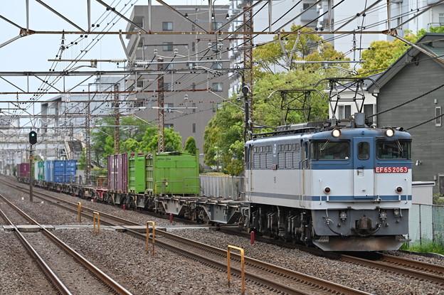 貨物列車1091レ (EF652063)