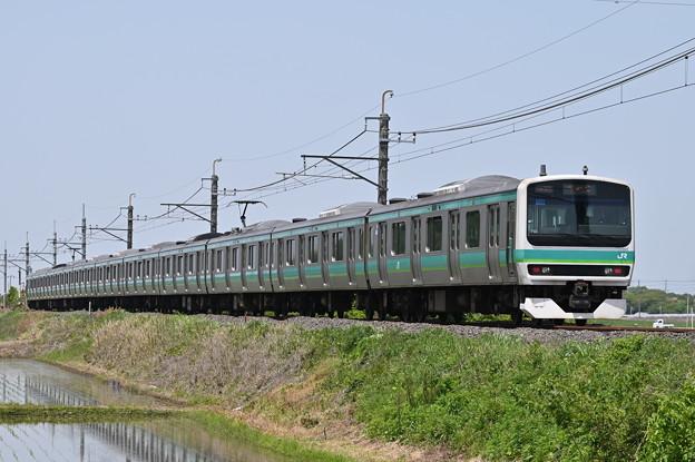 成田線普通列車 (E231系10両)