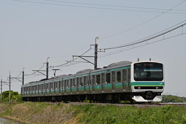 成田線普通列車 (E231系5両)