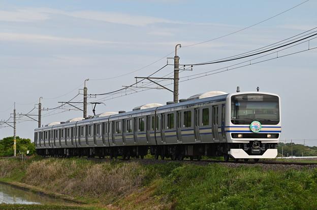 成田線 (我孫子~成田) 120周年記念列車 827M