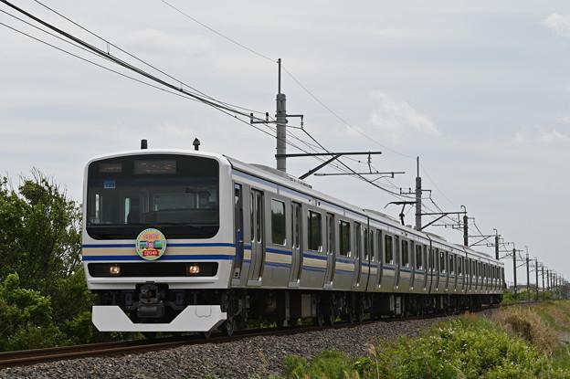 成田線 (我孫子~成田) 120周年記念列車 846M