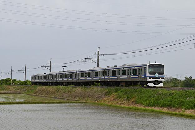 成田線 (我孫子~成田) 120周年記念列車 843M