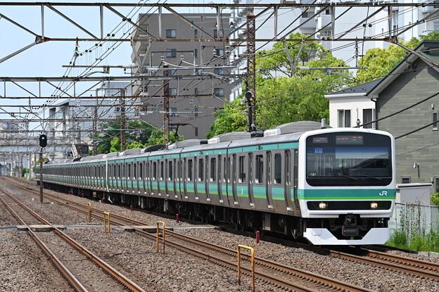 常磐線快速列車 E231系