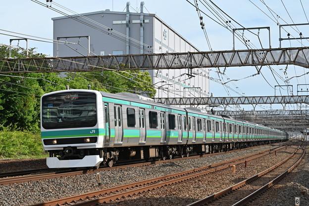 常磐線 快速列車 (E231系)