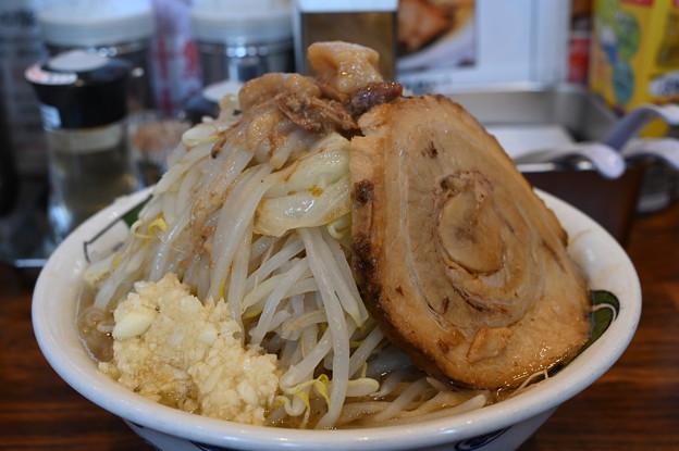 Photos: 雷本店の雷そば(並) 野菜マシ