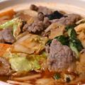 上海モダンのしびれる辛さの四川麻辣牛肉土鍋麺