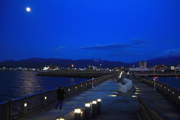 月と新中央埠頭2
