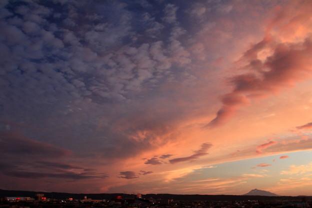 Photos: 西の夕焼け