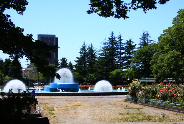 Photos: 平和公園の噴水