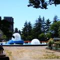 平和公園の噴水