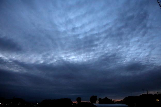 夕方の空模様(2021.4.6)