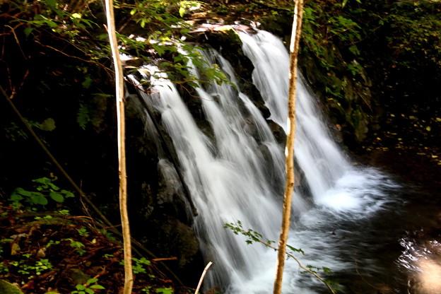 小森川の小さな滝風景3