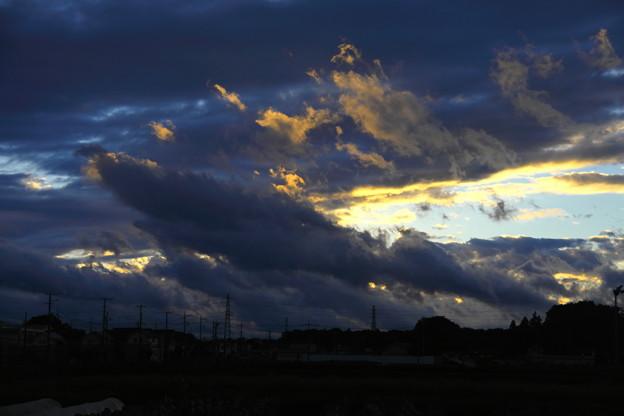 夕方の雲(2021.10.19)