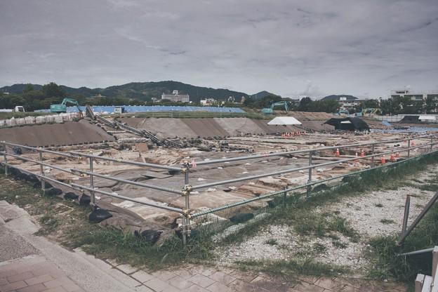 サッカースタジアム建設予定地(じじネタシリーズ)