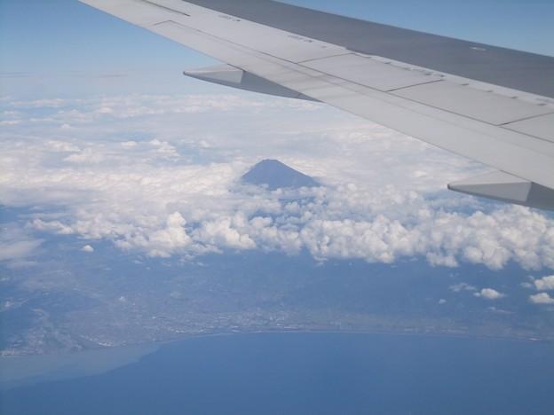 天空2   駿河湾上空から~