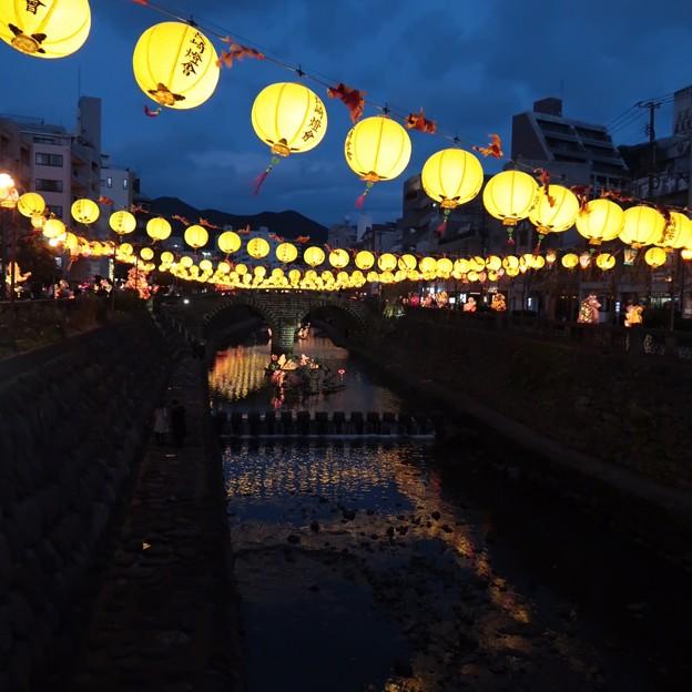 夜景2長崎ランタンフェスティバル