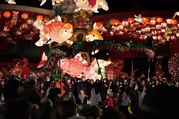 夜景3 長崎ランタンフェスティバル