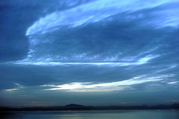 48 高低の雲の景