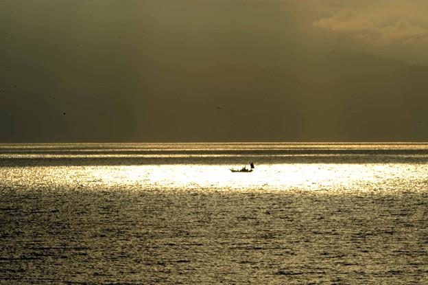 06 海面にポツリ