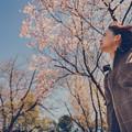 Photos: 薄い桜色の風