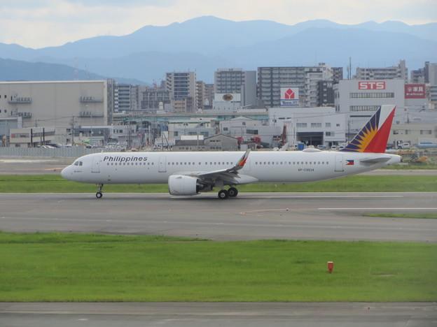 フィリピン航空 A321の離陸