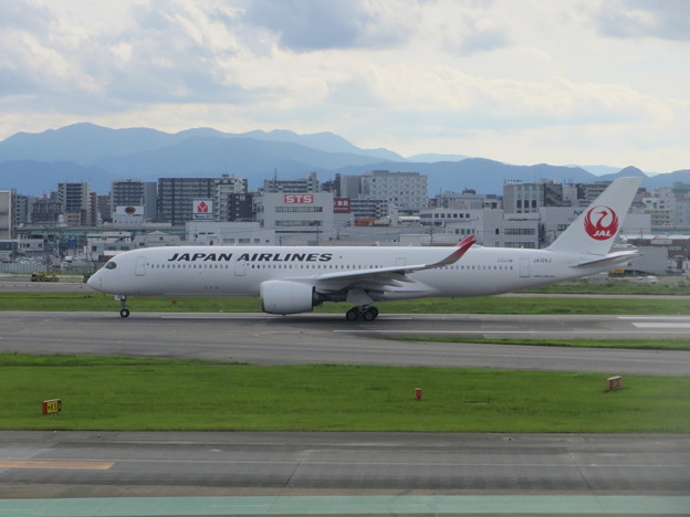 JAL  A350の出発 5