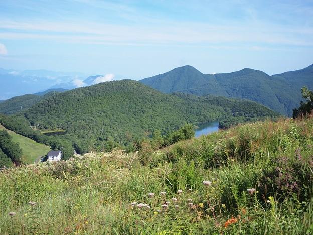 丸山スキー場より (5)