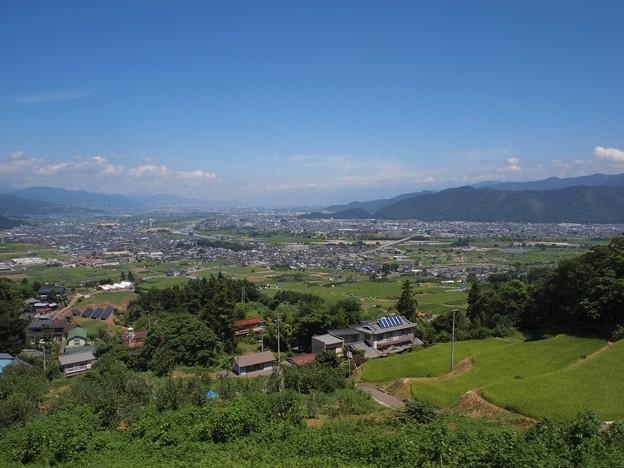 姨捨駅からの眺望 (7)