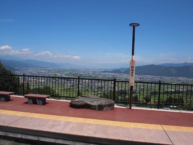 姨捨駅からの眺望 (2)