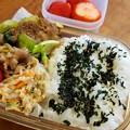 牛肉とチンゲン菜炒め弁当