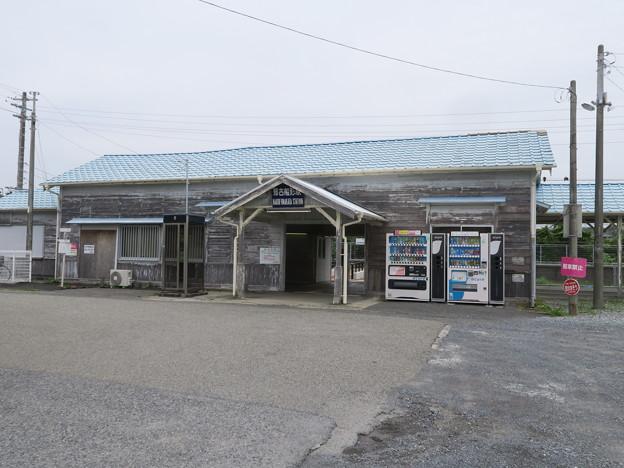 港に近い駅
