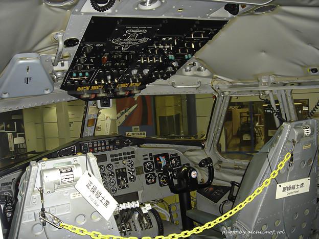 低騒音STOL実験機「飛鳥」コックピット DSC00258-3