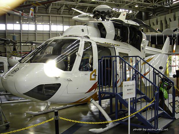 川崎 BK117 ヘリコプター DSC00199-3