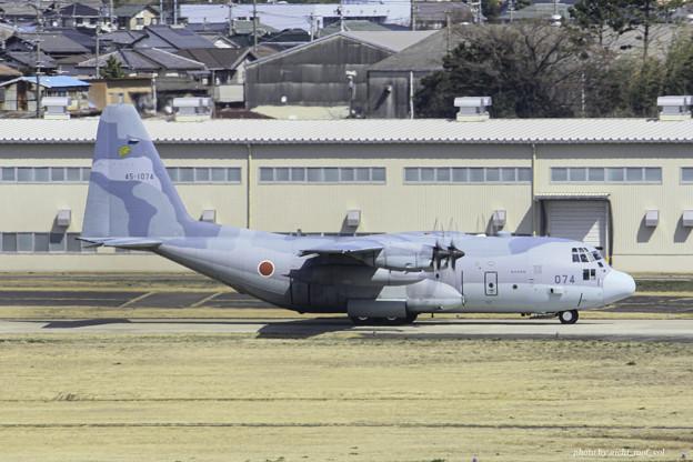 航空自衛隊第1輸送航空隊第401飛行隊 C-130H輸送機 45-1074 IMG_3708-3
