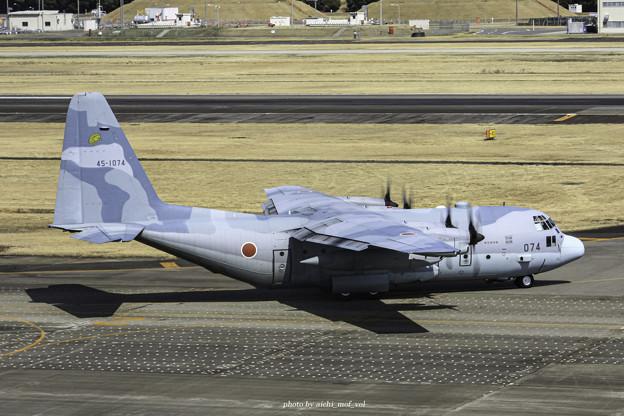 航空自衛隊第1輸送航空隊第401飛行隊 C-130H輸送機 45-1074 IMG_3721-3
