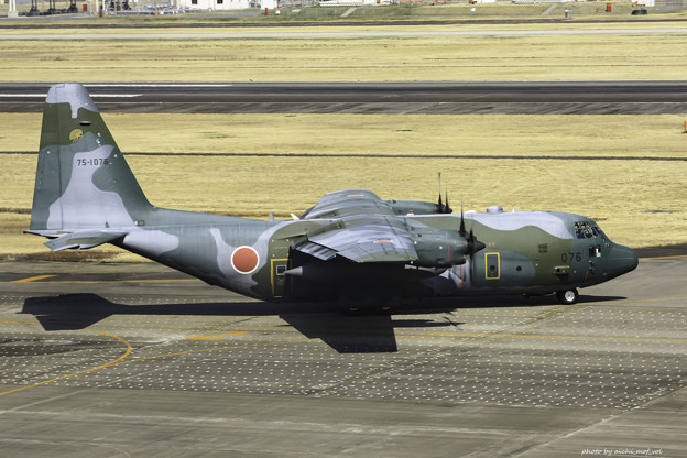 航空自衛隊第1輸送航空隊第401飛行隊 C-130H輸送機 75-1076 IMG_3739-3