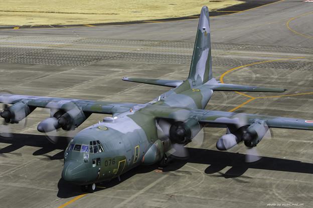 航空自衛隊第1輸送航空隊第401飛行隊 C-130H輸送機 75-1076 IMG_3729-3
